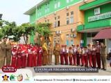 Kunjungan Pengawas Sekolah Kecamatan Tampan
